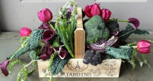 Gallery of Designs from our Workshops and Courses Trug-of-vegetables-and-flowers-texture-300x160